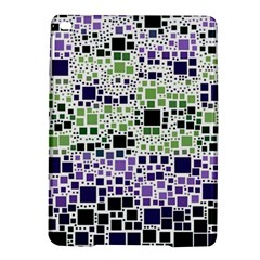 Block On Block, Purple Ipad Air 2 Hardshell Cases by MoreColorsinLife