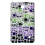 Block On Block, Purple Samsung Galaxy Tab 4 (8 ) Hardshell Case