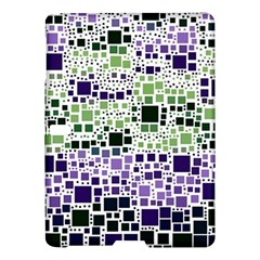 Block On Block, Purple Samsung Galaxy Tab S (10 5 ) Hardshell Case
