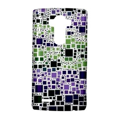 Block On Block, Purple Lg G4 Hardshell Case