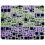 Block On Block, Purple Jigsaw Puzzle Photo Stand (Rectangular) Front