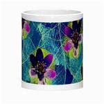 Purple Flowers Night Luminous Mugs Center