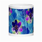 Purple Flowers Morph Mugs Center
