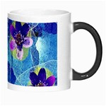 Purple Flowers Morph Mugs Right