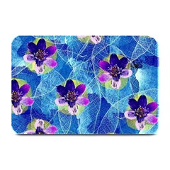 Purple Flowers Plate Mats by DanaeStudio