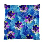 Purple Flowers Standard Cushion Case (One Side) Front