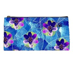 Purple Flowers Pencil Cases by DanaeStudio