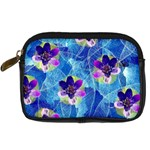 Purple Flowers Digital Camera Cases Front