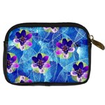 Purple Flowers Digital Camera Cases Back