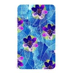 Purple Flowers Memory Card Reader