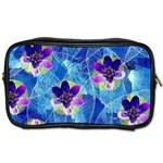 Purple Flowers Toiletries Bags 2-Side