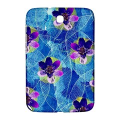 Purple Flowers Samsung Galaxy Note 8 0 N5100 Hardshell Case
