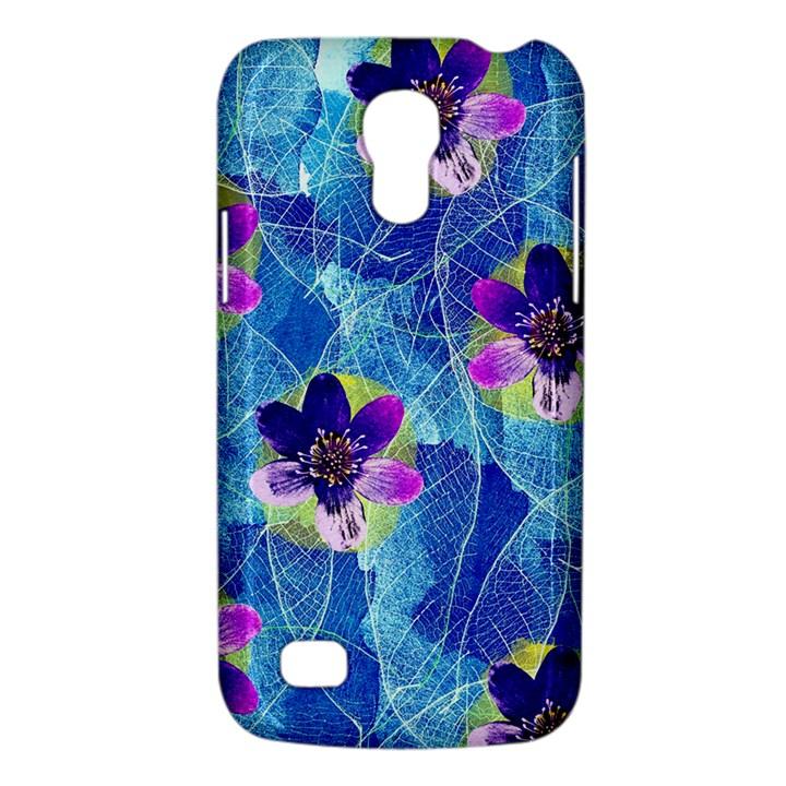 Purple Flowers Galaxy S4 Mini