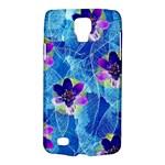 Purple Flowers Galaxy S4 Active