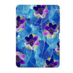 Purple Flowers Samsung Galaxy Tab 2 (10.1 ) P5100 Hardshell Case