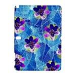 Purple Flowers Samsung Galaxy Note 10.1 (P600) Hardshell Case