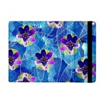 Purple Flowers iPad Mini 2 Flip Cases