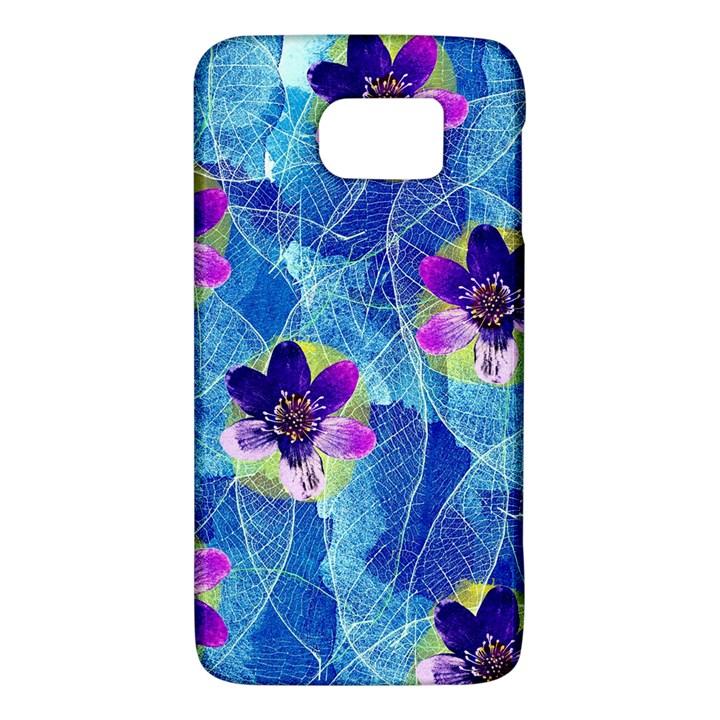 Purple Flowers Galaxy S6