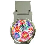 Colorful Succulents Money Clip Watches