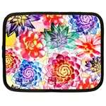 Colorful Succulents Netbook Case (Large) Front