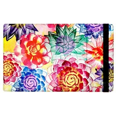 Colorful Succulents Apple Ipad 3/4 Flip Case by DanaeStudio