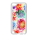 Colorful Succulents Apple iPod Touch 5 Case (White) Front