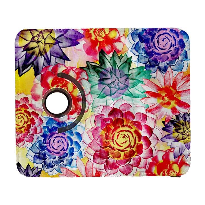 Colorful Succulents Samsung Galaxy S  III Flip 360 Case