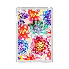 Colorful Succulents Ipad Mini 2 Enamel Coated Cases by DanaeStudio