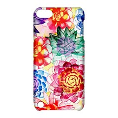 Colorful Succulents Apple Ipod Touch 5 Hardshell Case With Stand by DanaeStudio