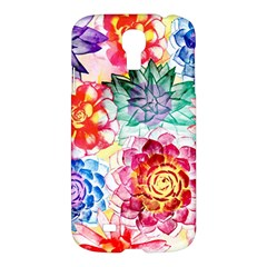 Colorful Succulents Samsung Galaxy S4 I9500/I9505 Hardshell Case