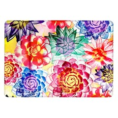 Colorful Succulents Samsung Galaxy Tab 10 1  P7500 Flip Case