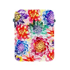 Colorful Succulents Apple Ipad 2/3/4 Protective Soft Cases by DanaeStudio