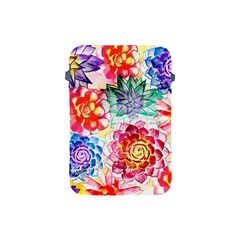 Colorful Succulents Apple Ipad Mini Protective Soft Cases by DanaeStudio