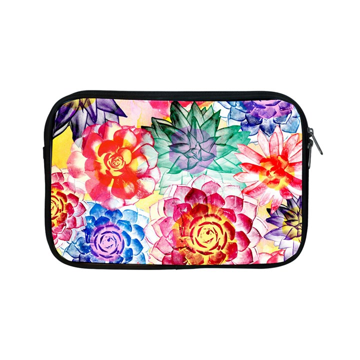 Colorful Succulents Apple iPad Mini Zipper Cases