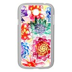 Colorful Succulents Samsung Galaxy Grand DUOS I9082 Case (White) Front
