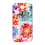 Colorful Succulents Samsung Galaxy S4 I9500/I9505  Hardshell Back Case Front