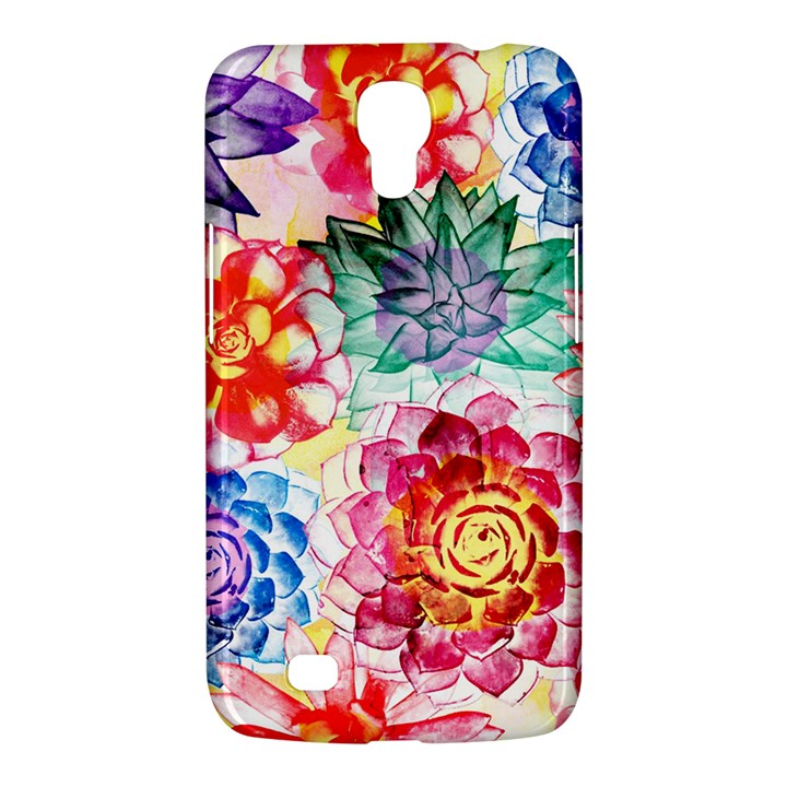 Colorful Succulents Samsung Galaxy Mega 6.3  I9200 Hardshell Case