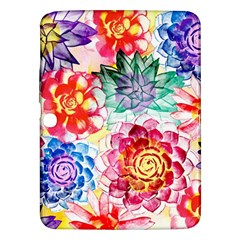 Colorful Succulents Samsung Galaxy Tab 3 (10 1 ) P5200 Hardshell Case