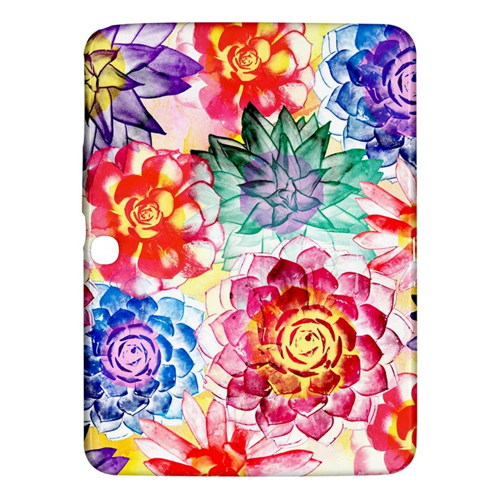Colorful Succulents Samsung Galaxy Tab 3 (10.1 ) P5200 Hardshell Case