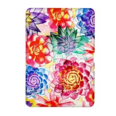 Colorful Succulents Samsung Galaxy Tab 2 (10 1 ) P5100 Hardshell Case