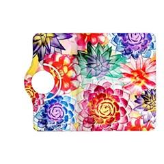 Colorful Succulents Kindle Fire Hd (2013) Flip 360 Case by DanaeStudio