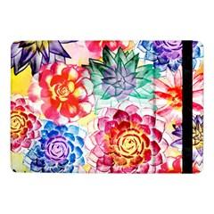 Colorful Succulents Samsung Galaxy Tab Pro 10 1  Flip Case