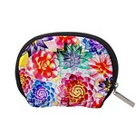 Colorful Succulents Accessory Pouches (Small)  Back