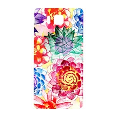 Colorful Succulents Samsung Galaxy Alpha Hardshell Back Case