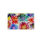 Colorful Succulents Cosmetic Bag (XS) Front