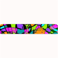 Abstract Sketch Art Squiggly Loops Multicolored Small Bar Mats by EDDArt