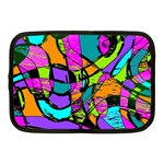 Abstract Sketch Art Squiggly Loops Multicolored Netbook Case (Medium)  Front