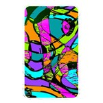 Abstract Sketch Art Squiggly Loops Multicolored Memory Card Reader Front