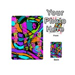 Abstract Sketch Art Squiggly Loops Multicolored Playing Cards 54 (Mini)  Front - Joker2