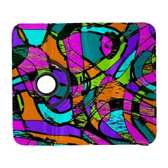 Abstract Sketch Art Squiggly Loops Multicolored Samsung Galaxy S  Iii Flip 360 Case by EDDArt